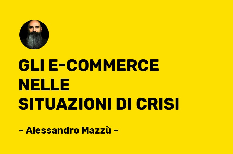 Strategia E-Commerce in emergenza e crisi